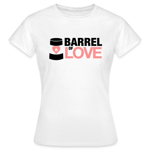 Barrel of Love Girls T-Shirt - Women's T-Shirt