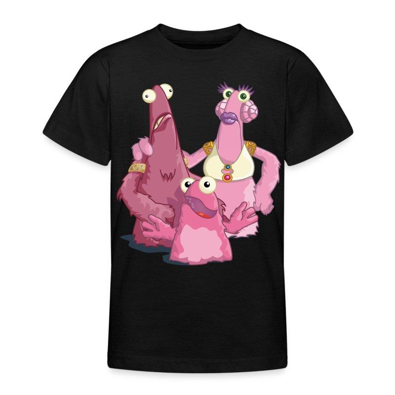 Kinder-Shirt Vieh-Familie - Teenager T-Shirt