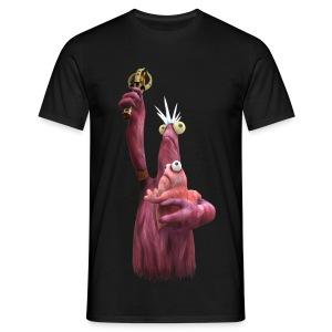 T-Shirt Freiheits-Vieh mit Baby - Männer T-Shirt