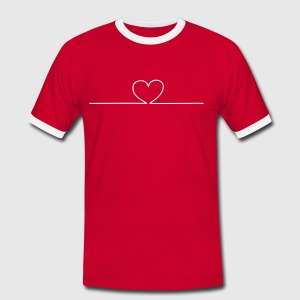 Heart online T-shirts - T-shirt contraste Homme
