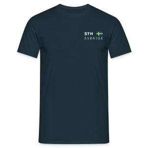 Classic T-Shirt STH SVERIGE white-lettered  - Men's T-Shirt