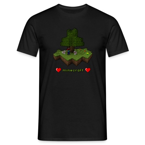 Minecraft Love - Men's T-Shirt