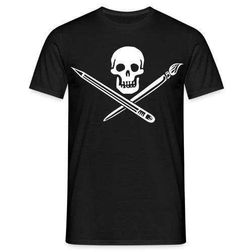 Grafik-Pirat - Männer T-Shirt