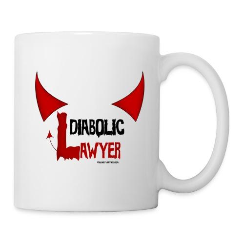 Diabolic Lawyer - Mug blanc