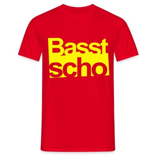 BASST SCHO Dreiflüsse Records - Männer T-Shirt