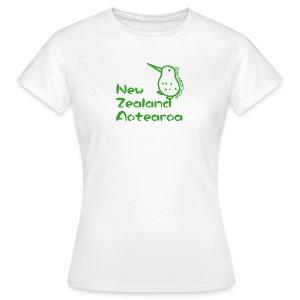 New Zealand's Map - Women's T-Shirt