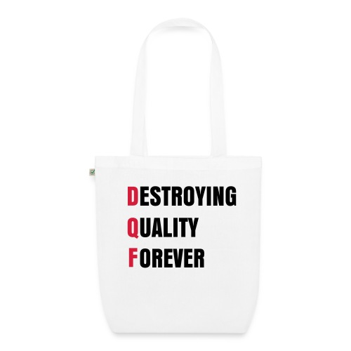 DQF BAG - EarthPositive Tote Bag
