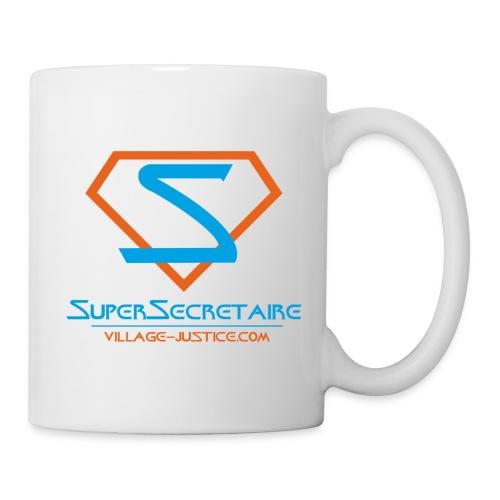 Super Secrétaire ! - Mug blanc
