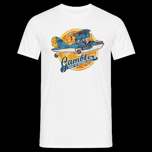 Gambler (Vintageprint) - Men's T-Shirt