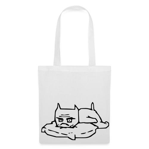 en ful katt 3 - Tygväska
