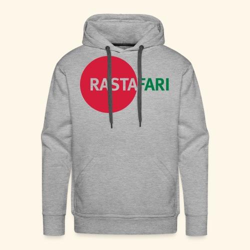 RASTAFARI - red/green - Männer Premium Hoodie
