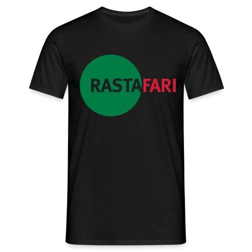 RASTAFARI - green/red - Men's T-Shirt