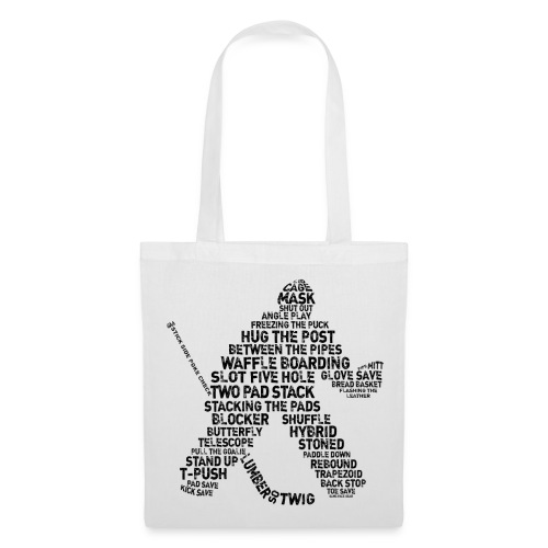 Ice Hockey Goalie Terminology Tote Bag   - Tote Bag