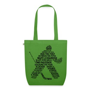 Ice Hockey Goalie Terminology Organic Tote Bag  - EarthPositive Tote Bag