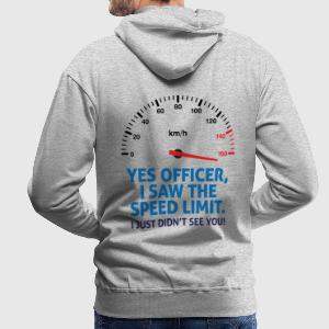 Speed Limit 2 (dd)++ Hoodies & Sweatshirts - Men's Premium Hoodie