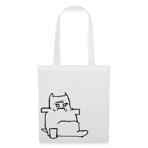 en ful katt 2 - Tygväska