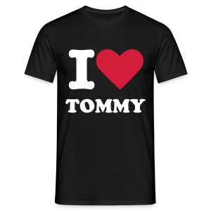 ILOVETOMMYTEE - Men's T-Shirt