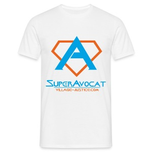 Attention, Super Avocat ! - T-shirt Homme