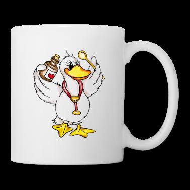 Nurse Duck Tazze