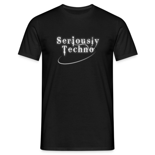 Elektrax Recordings Seriously Techno - Men's T-Shirt