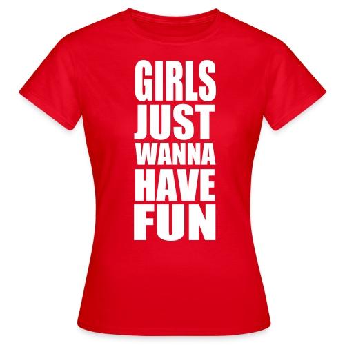 Girls Fun - Women's T-Shirt