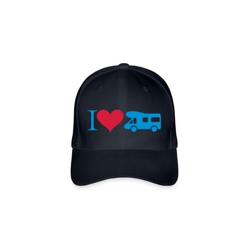 Baseballkappe Camper-Fan - Flexfit Baseballkappe