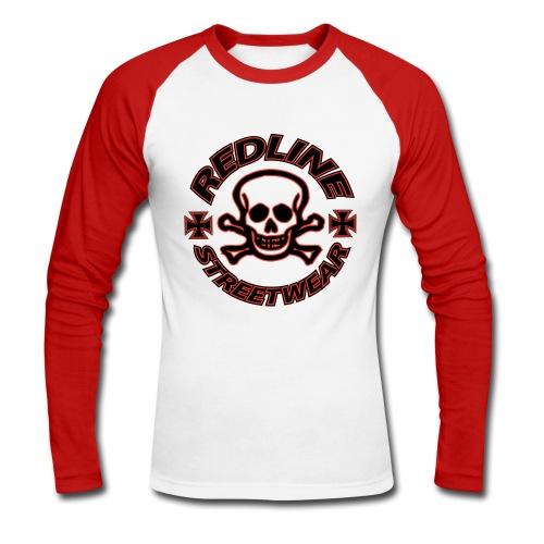 Långärmad,T-shirt ,RedLineStreetwear - Långärmad basebolltröja herr
