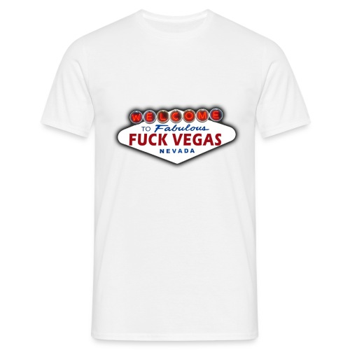 Welcome to fabulous FUCK VEGAS Men Shirt klassisch - Männer T-Shirt