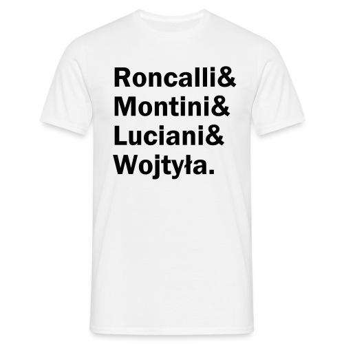 Roncalli& (schwarzer Druck) - Männer T-Shirt