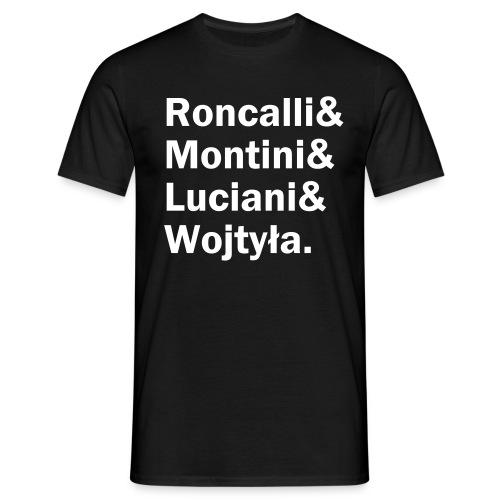 Roncalli& (weißer Druck) - Männer T-Shirt