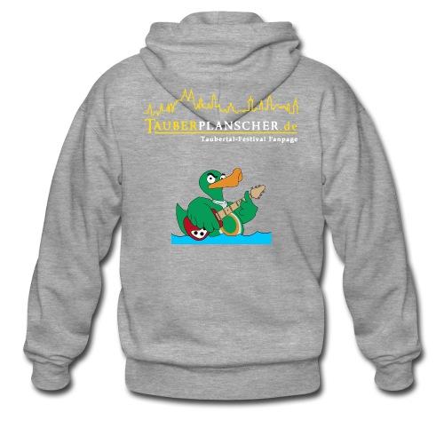 Rocky Kapuzenjacke duck@rock (Logo gelb-weiß) - Männer Premium Kapuzenjacke