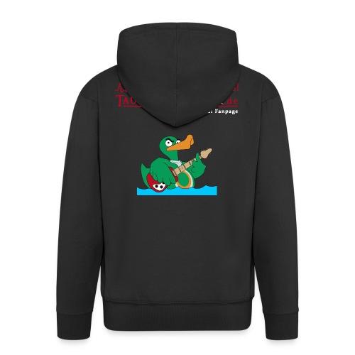 Rocky Kapuzenjacke duck@rock (Logo rot-weiß) - Männer Premium Kapuzenjacke
