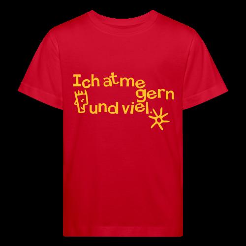 Atmen - Luftatmer - Kinder Bio-T-Shirt