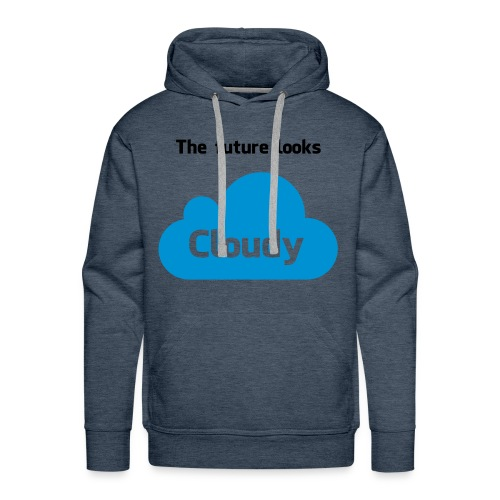 Blue Cloud - Men's Premium Hoodie
