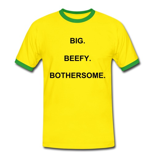 Big. Beefy. Bothersome. Grant Holt - Men's Ringer Shirt