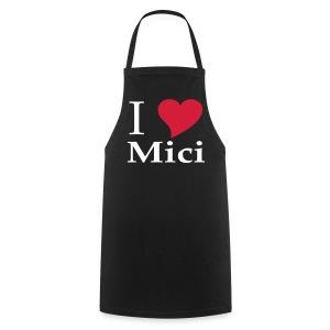 Schürze I love Mici - Kochschürze