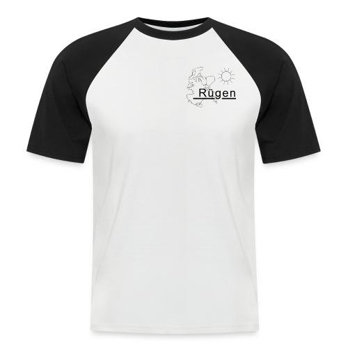 Rügen Promodoro schwarz - Männer Baseball-T-Shirt
