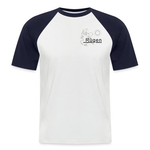 Rügen Promodoro rot - Männer Baseball-T-Shirt