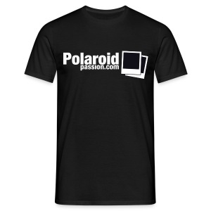 T-Shirt Boy Polaroid Passion - Noir - T-shirt Homme