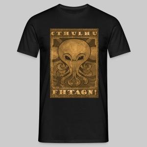MTS: Cthulhu Fhtagn (major motive) - Men's T-Shirt