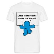Werbefläche Zu Vermieten!   Männer T Shirt