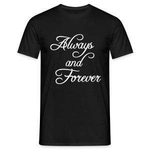 T shirt always and forever - T-shirt Homme
