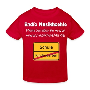 Fan-Shirt einfach Klimaneutral - Kinder Bio-T-Shirt