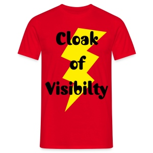 Cloak of Visibility - Männer T-Shirt