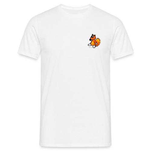 Petit Renard Blanc - T-shirt Homme
