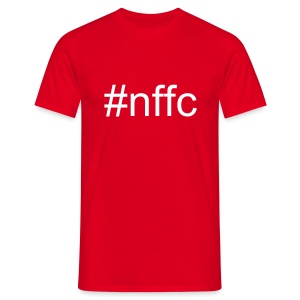 #nffc red - Men's T-Shirt