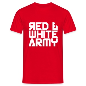 Red & White Army red - Men's T-Shirt