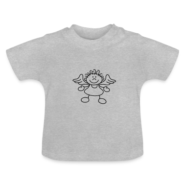Tousled little angel Baby Shirts