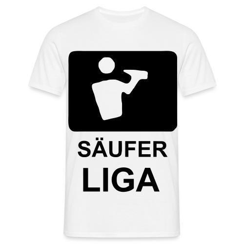 Säufer Liga - Männer T-Shirt