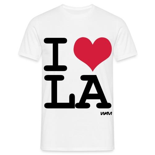 I ♥ LA - Männer T-Shirt